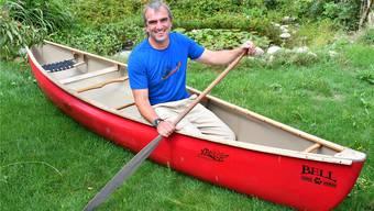 «So sitzt aber niemand in einem Kanu», reklamiert Matthias Näf.