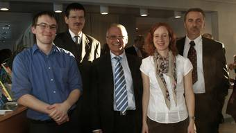 Für das Zentrum starkgemacht haben sich Michael Albisser, Arnold Zwahlen, René Frauchiger, Amanda Nyffeler und Matthias Sailer. SIH