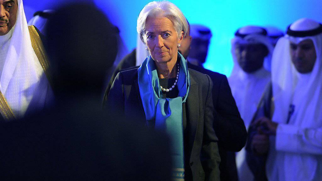IWF-Chefin Christine Lagarde unterstützt die Aufnahme der chinesischen Währung in den Währungskorb des Fonds. (Archiv)