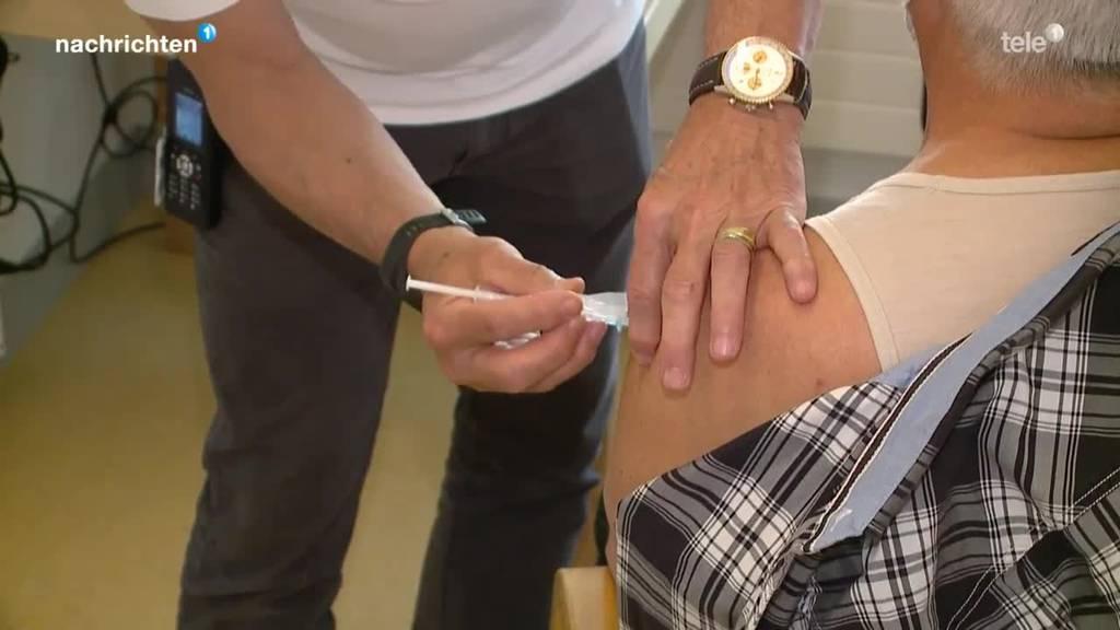 Swiss Medic bewilligt Boosterimpfung