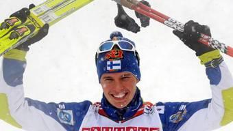 Matti Heikkinen gewann über 50 km Massenstart die Bronzemedaille, dank Harri Syväsalmi definitiv ohne Doping.