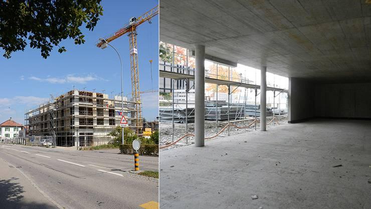 Ein Steuerzuwachs aufgrund der 34 neuen Wohnungen in der Zentrumsüberbauung und weiteren Bautätigkeiten im Dorf wird als sehr realistisch angesehen. (Archiv)