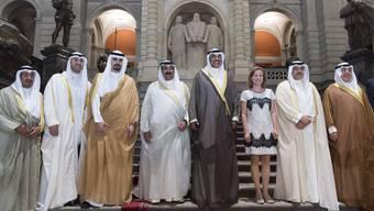 Christa Markwalder und der Besuch aus Kuwait