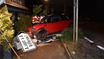 So zeigte sich die Unfallstelle den Rettungskräften. Quelle: Kapo ZH.