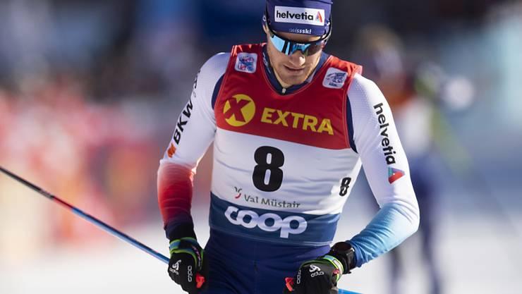 Dario Cologna wird die diesjährige Tour de Ski neben dem Podium beenden