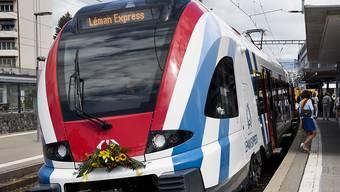Der Léman Express wurde am Donnerstag offiziell eingeweiht.