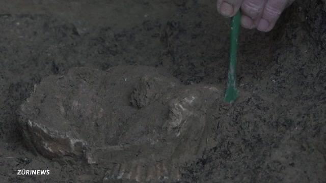 Sensationsfund: Uralte Zürcherin ausgegraben