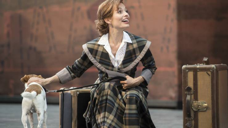 "Eveline Suter als Kate McGowan im Musical ""Titanic"" (Archiv)"