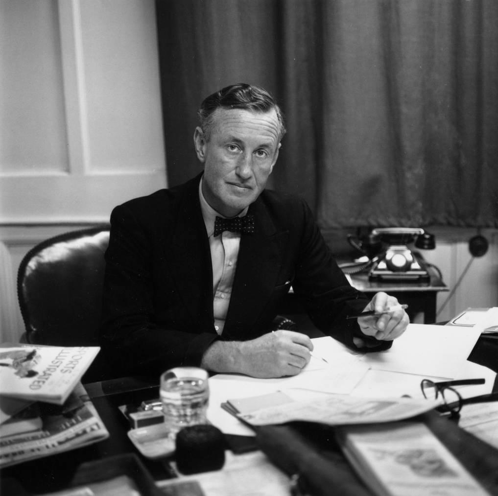 Ian Fleming im Jahr 1958.