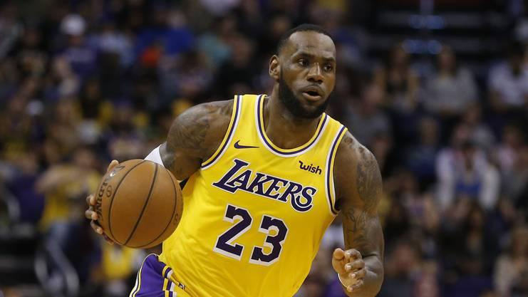 LeBron James feiert im Dezember seinen 35. Geburtstag. Die Zeit drängt, will er mit den Lakers noch etwas erreichen.