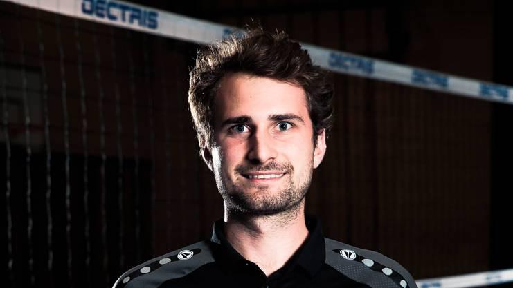 Kanti-Baden-Trainer Moritz Fischer.