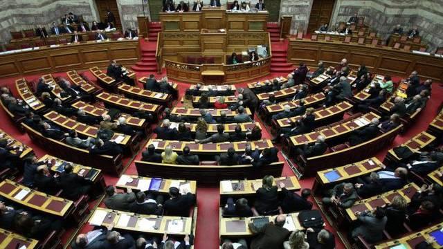Das griechische Parlament berät über Sparmassnahmen