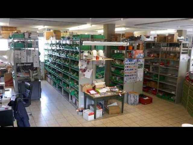 Liquidation Damann AG, Magden: Blick in die Verkaufsräumlichkeiten