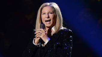 Barbra Streisand bei einem Konzert vergangenen Oktober in New York