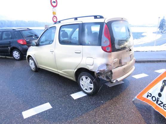 Das andere involvierte Auto.
