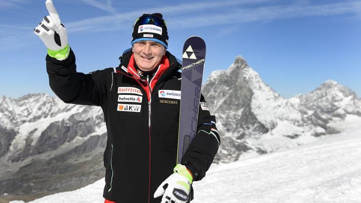 Stéphane Cattin soll als neuer Chef viele Schweizer Skifahrer an die Weltspitze führen.
