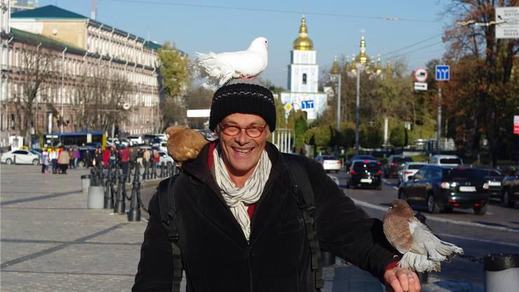 Im Oktober 2014 besuchte Simon Gerber die ukrainische Hauptstadt Kiew, um vor Ort einen Eindruck vom Ukraine-Konflikt zu bekommen.