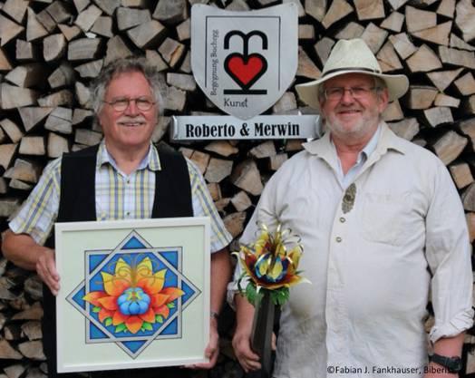 Roberto Wiedmer und Merwin Bader (©Fabian J. Fankhauser, Biberist)