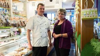 Peter Bleuler und Judith Gasche führen seit neun Jahren die Confiserie «Wassertürmli». Ende Juni ist Schluss.