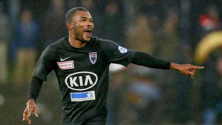 Nicht mehr länger für den FC Aarau tätig: Geoffroy Serey Dié kehrt zu Neuchâtel Xamax zurück.