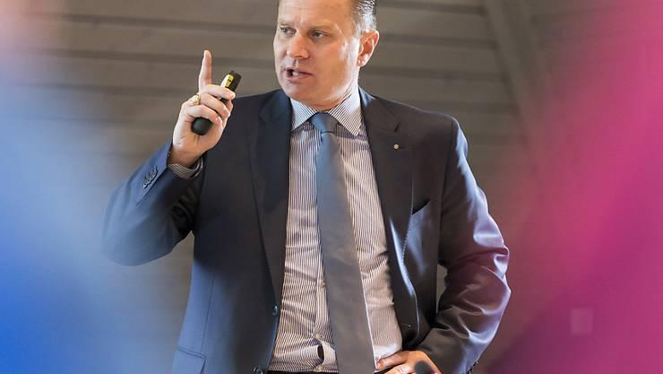 Der Waadtländer Staatsrat Philippe Leuba (FDP) kündigte strengere Regeln für Schweinemast-Betriebe an.