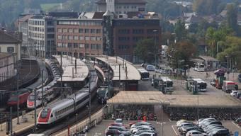 Mit dem neuen Mobilitätskonzept sollen die verschiedenen Verkehrsmittel öV, Auto oder Velo besser auf die Siedlungsentwicklung abgestimmt werden. Bruno Kissling/Archiv