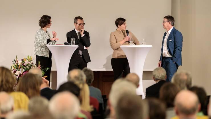 Das Solothurner Tourismusforum 2020 fand am 14.Januar im Landhaus statt. Es stand im Zeichen der neuen Zusammenarbeit mit Aargau Tourismus.
