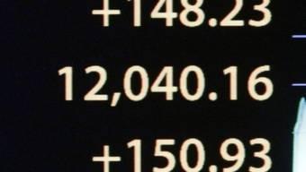 Dow Jones knackt 12'000 Punkte
