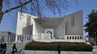 Das Oberste Gericht in Islamabad, Pakistan