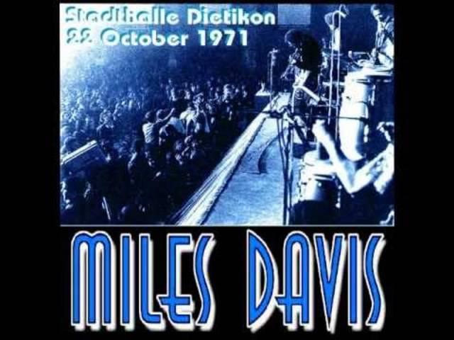 Miles Davis - Live in der Stadthalle Dietikon, 1971