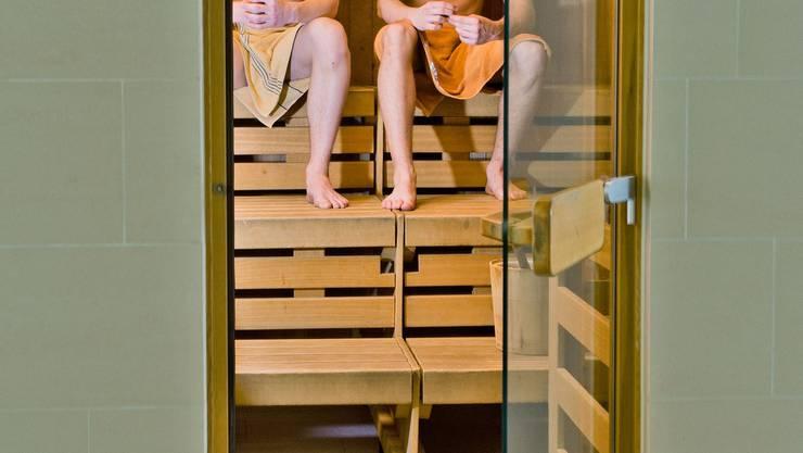 Frauen sollen sich über das Verhalten der Männer in der Sauna beschwert haben. (Symbolbild)