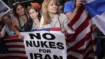 Der Widerstand in den USA wächst: Die Gegner suchen Einfluss auf die Debatte im Parlament, das das Atom-Abkommen noch absegnen muss.