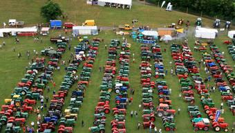 Hier schlägt jedes Oldtimer-Herz höher: An der letzten Landmaschinen Oldtimer-Ausstellung – im Juli 2010 – kamen an drei Tagen insgesamt 10 000 Besucher auf das Festgelände nach Effingen.