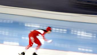 Schaffte es im Massenstart-Weltcup von Salt Lake City als Zweiter aufs Podest: Livio Wenger (Archivbild)