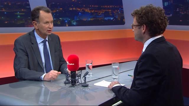 Rücktritt als FDP-Chef: Philipp Müller nimmt im «TalkTäglich» Stellung – sehen Sie hier die ganze Sendung vom Mittwochabend.