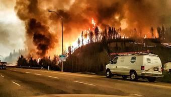 Heftige Waldbrände in Kanada treiben Menschen in die Flucht