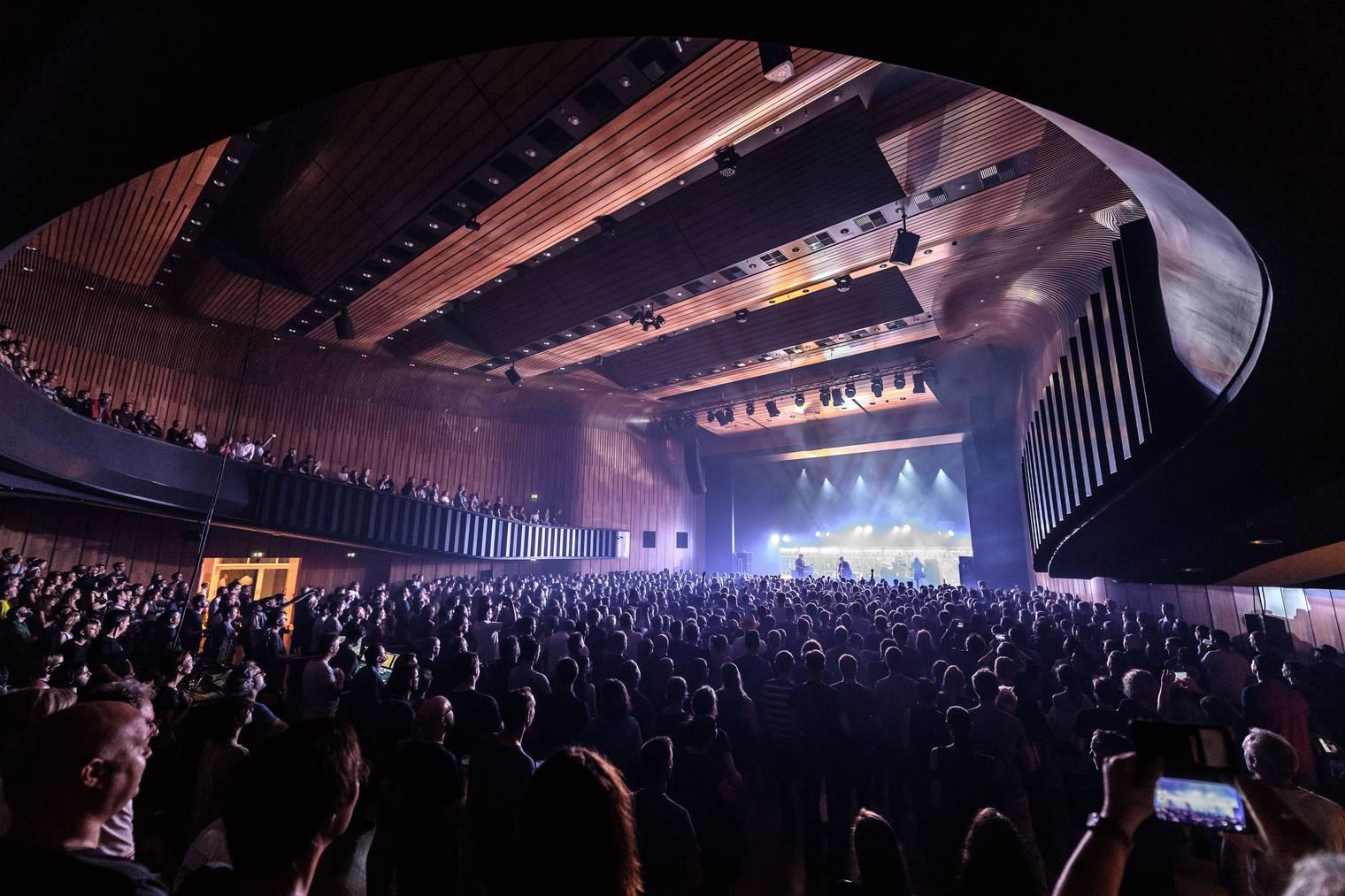 Die Pixies waren das Highlight des diesjährigen Poolbar-Festivals.