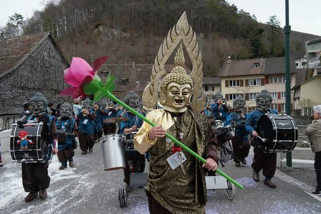 Die Hölsteiner Gwaageschränzer waren gediegene Buddhas.