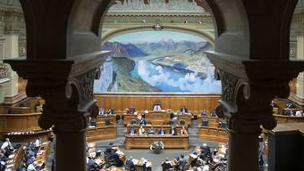 Hier wollen die Kandidatinnen und Kandidaten hin: der Nationalratssaal.