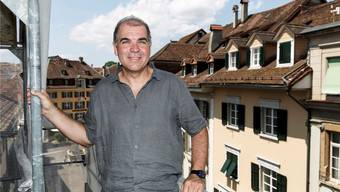 Stefan Blank, höchster Denkmalpfleger im Kanton, wacht über das intakte Altstadtbild.
