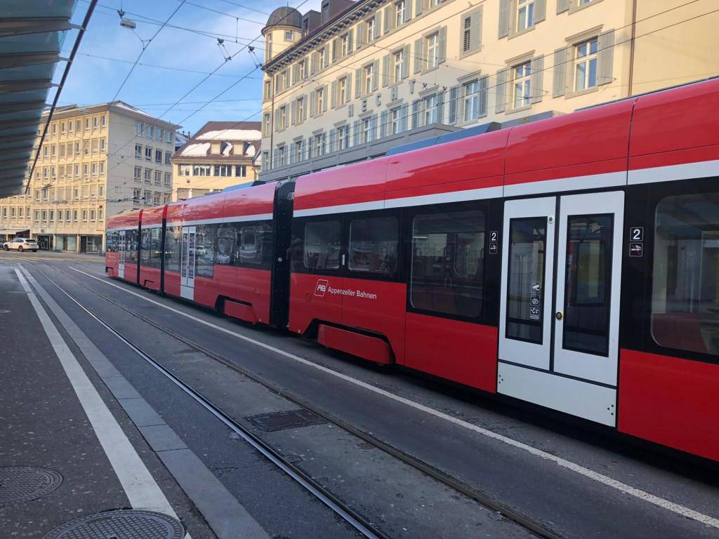 Stromausfall: Appenzeller Bahn am Marktplatz stillgelegt (© FM1Today/Lena Rhyner)