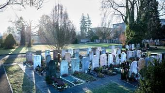 Erdgräber sind verglichen mit früher nicht mehr gross gefragt. Dadurch hat der Friedhof Liestal Platz für Neues.