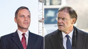 Haben eine lange Vorgeschichte: Jean-Pierre Gallati (links) und Walter Dubler.