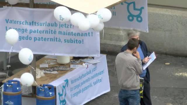Volksinitiative verlangt zwanzig Tage Papi-Zeit