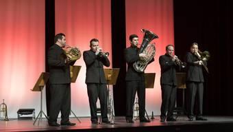 Der Stilmix der Boston Brass aus Klassik, Jazz, Volksweisen und Broadway-Hits sprengte den Rahmen herkömmlichen Blechbläser-Repertoires.