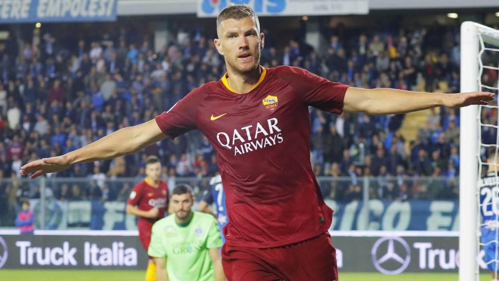 Inter findet Lukaku-Ersatz: Edin Dzeko verlässt die AS Roma in Richtung Mailand.