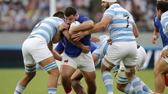 Frankreich und Argentinien, die sich am Samstag gegenüberstanden, sind zwei von ganz wenigen nicht-anglophonen Nationen, die im Rugby eine tragende Rolle spielen