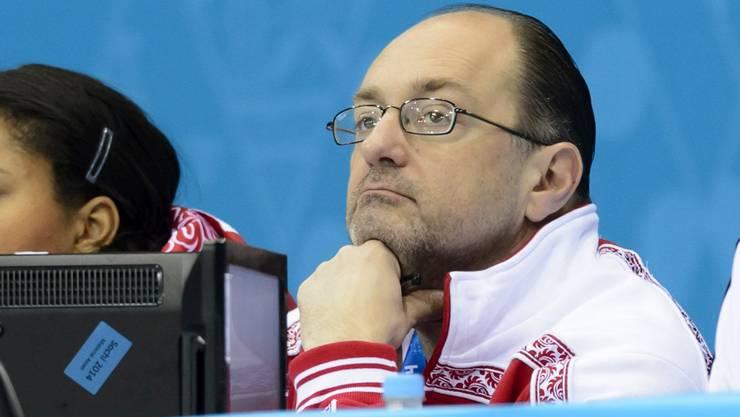 Aufs Glateis begeben: Trotz Widerständen lässt sich Thomas Lips die Freude am Curling nicht verderben.