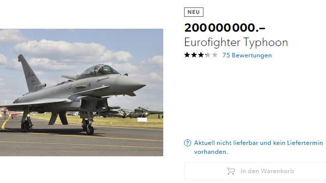 Eurofighter Galaxus