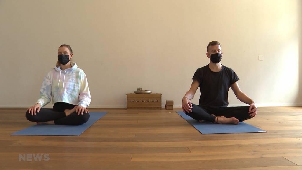 Yoga, Meditation und Pilates: Berner entwickeln App zum Entspannen